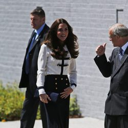 Kate Middleton en la reapertura de Bletchley Park
