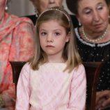 La Infanta Sofía en la firma de la Ley de Abdicación del Rey Juan Carlos