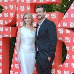 Cameron Díaz y Jason Segel en el estreno de 'Sex Tape' en Barcelona
