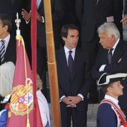 Los expresidentes del Gobierno en la proclamación del Rey Felipe VI