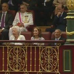 La madre y los abuelos de la Reina Letizia en la proclamación del Rey Felipe VI