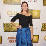 Carrie Preston en los Critics' Choice Television Awards 2014
