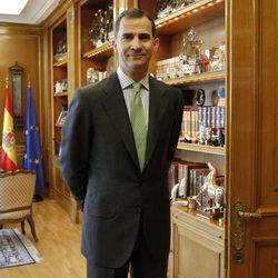 El Rey Felipe espera al presidente del Gobierno en su primer despacho tras la proclamación