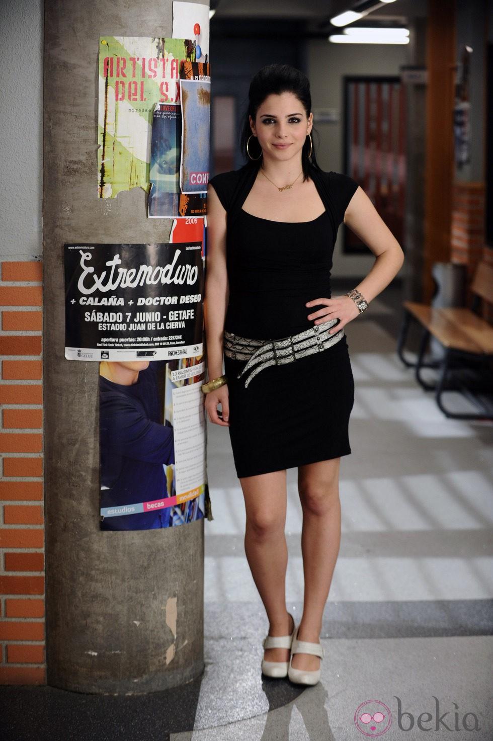 Andrea Duro interpreta a Yoli en 'Física o química'