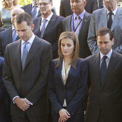 El Rey Felipe VI y la Reina Letizia cabizbajos en su primer acto tras la proclamación