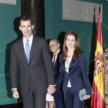 El Rey Felipe VI y la Reina Letizia en su primer acto tras la proclamación