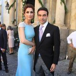 Paloma Cuevas y Enrique Ponce en la boda de Verónica Cuevas y Manuel del Pino