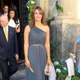 Fabiola Martínez en la boda de Verónica Cuevas y Manuel del Pino