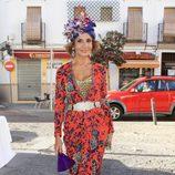 Naty Abascal en la boda de Verónica Cuevas y Manuel del Pino