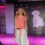 Natalia en la presentación de la colección de moda de Nerea Garmendia
