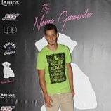 Joel Bosqued en la presentación de la colección de moda de Nerea Garmendia