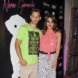 Andrea Duro y Joel Bosqued en la presentación de la colección de moda de Nerea Garmendia