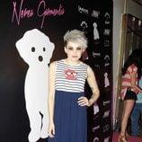 Angy en la presentación de la colección de moda de Nerea Garmendia