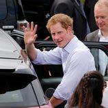 El Príncipe Harry de Inglaterra durante su visita oficial a Brasilia