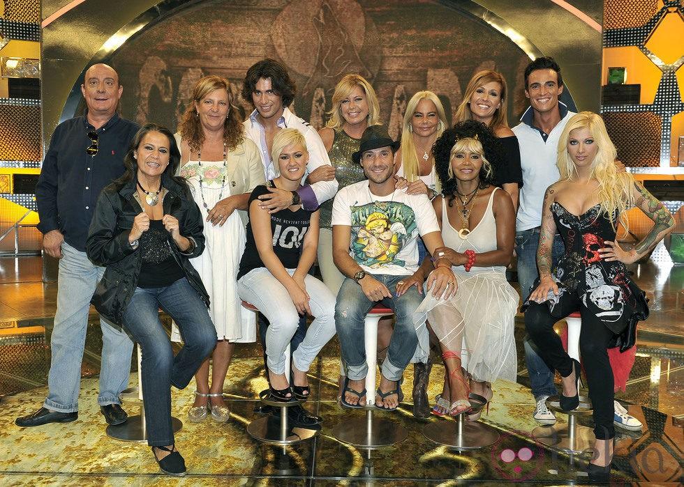 Los doce 'Acorralados' de Telecinco