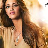 Sara Carbonero en la imagen promocional de la nueva colección Lotus Silver