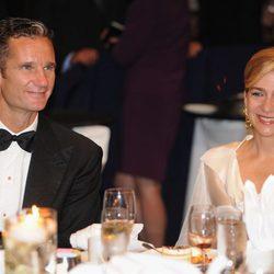 Los Duques de Palma en la gala de Gala de entrega de los Premios del Instituto del Comité de Congresistas Hispanos