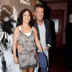Francis Lorenzo en el estreno de 'Crimen Perfecto'