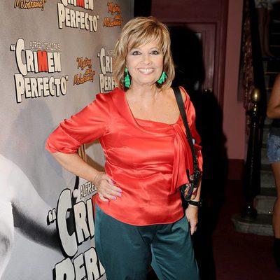 María Teresa Campos en el estreno de 'Crimen Perfecto'