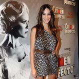 Almudena Cid en el estreno de 'Crimen Perfecto'