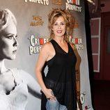 Miriam Díaz Aroca en el estreno de 'Crimen Perfecto'