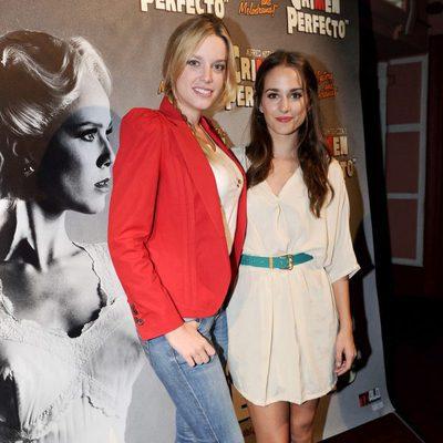 Carolina Bang y Silvia Alonso en el estreno de 'Crimen Perfecto'