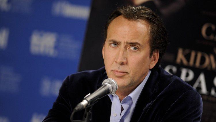 Nicolas Cage en la presentación de 'Trespass' en el Festival de Toronto