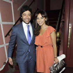 Chenoa con su novio Alain Cornejo