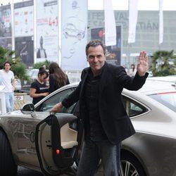 José Coronado a su llegada al Festival de San Sebastián 2011