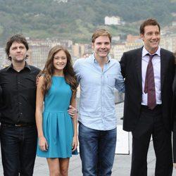 El reparto de 'Intrusos' presenta la película en el Festival de San Sebastián 2011