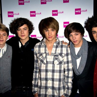 One Direction en la navidad londinense
