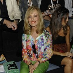 Silvia Tortosa en el desfile de Devota y Lomba en Cibeles