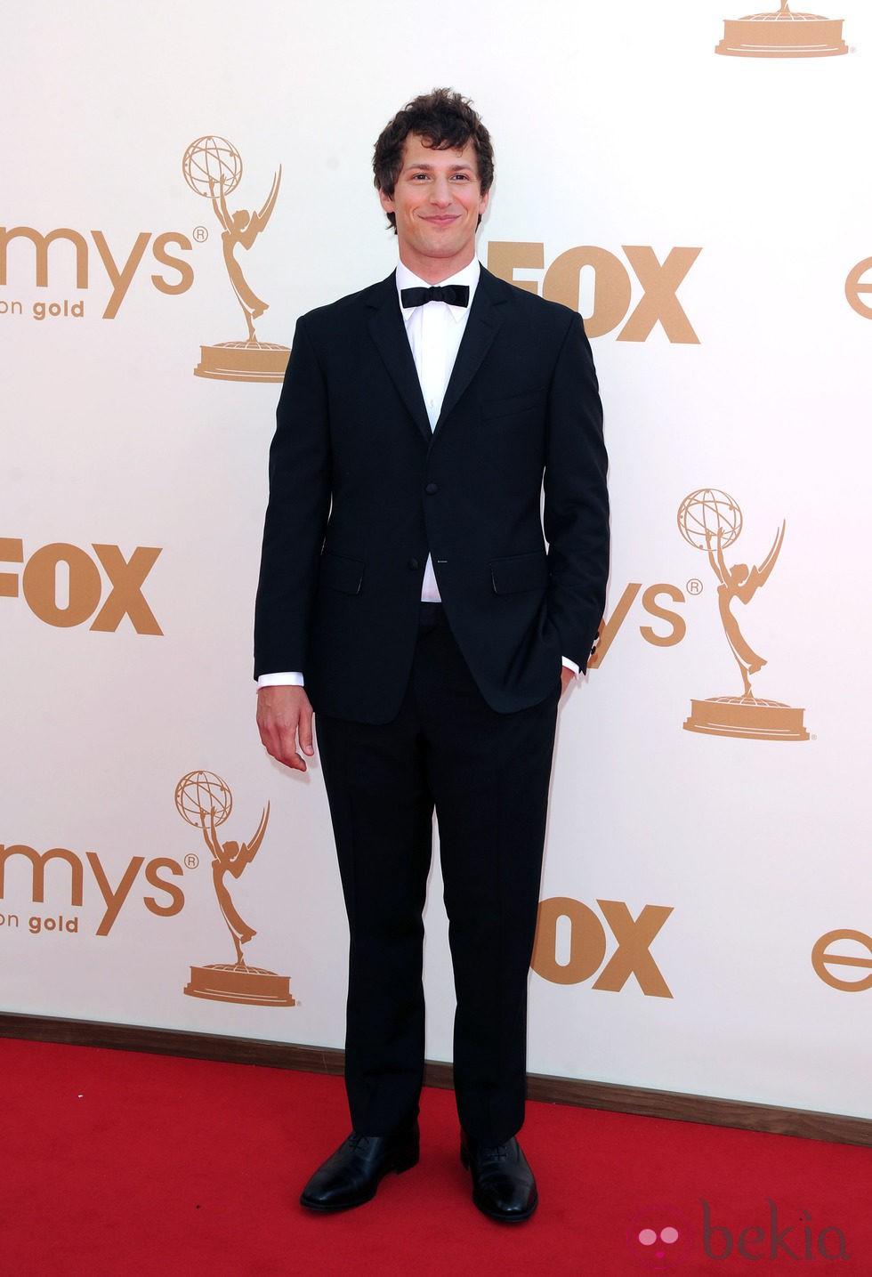 Andy Samberg en la gala de los Emmy 2011