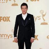 Cory Monteith en los premios Emmy 2011