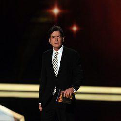 Charlie Sheen, uno de los presentadora de los Emmy 2011