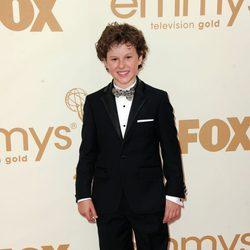 Nolan Gould en los premios Emmy 2011