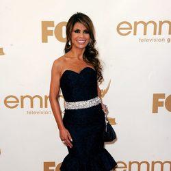 Paula Abdul en los premios Emmy 2011