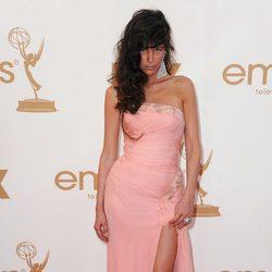 Paz de la Huerta en los premios Emmy 2011