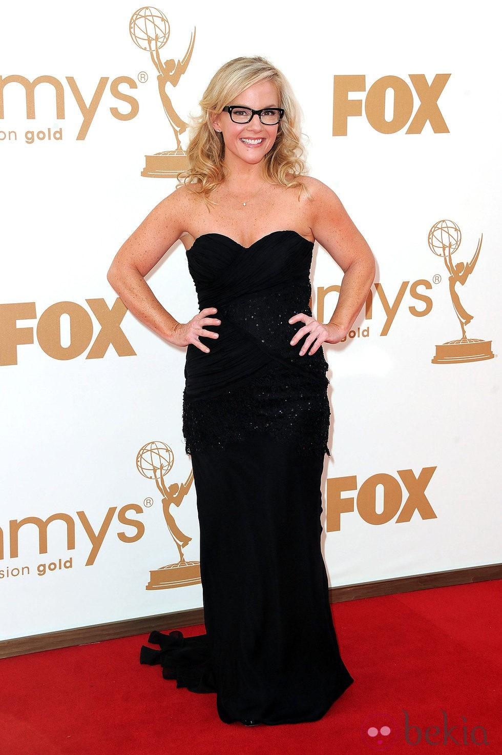 Rachael Harris en los premios Emmy 2011