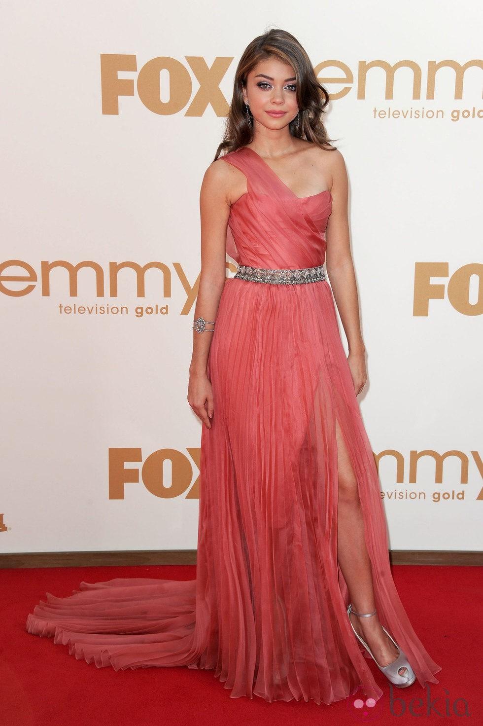 Sarah Hylanm en la gala Emmy 2011