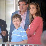 La Infanta Elena y Felipe de Marichalar en el Concurso de Saltos de Madrid