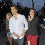 Paz Vega y Orson Salazar en el concierto de los Rolling Stones en Madrid