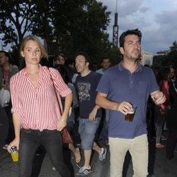 Arturo Valls en el concierto de los Rolling Stones en Madrid