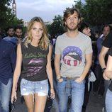 Amaia Salamanca y Rosauro Varo en el concierto de los Rolling Stones en Madrid