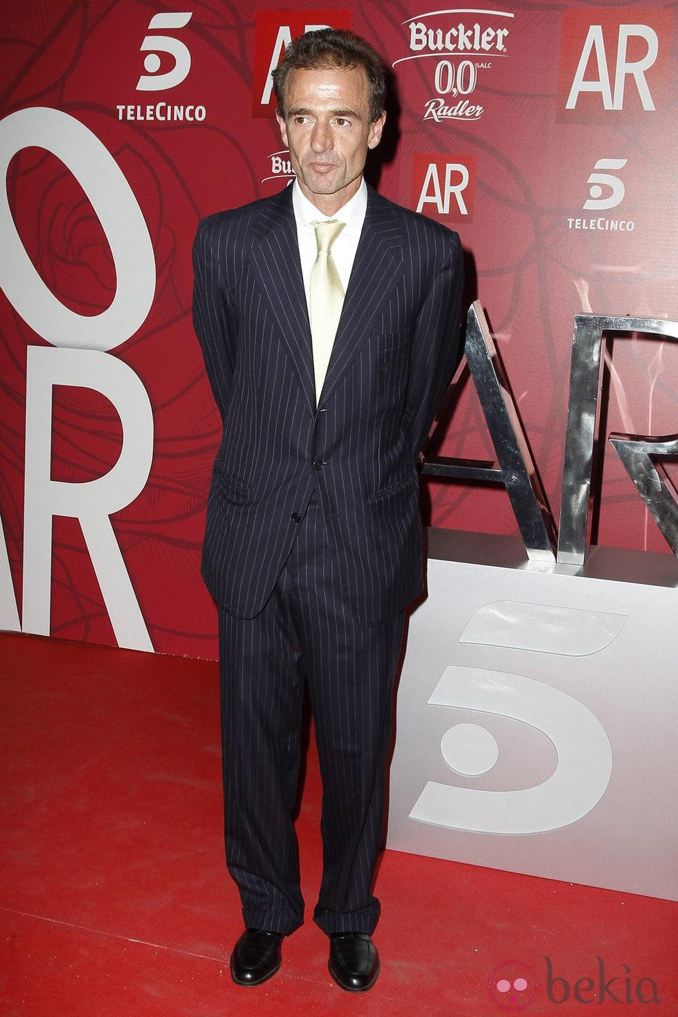 Alessandro Lequio en el décimo aniversario de 'El Programa de Ana Rosa'