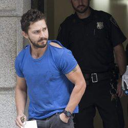 Shia LaBeouf tras ser detenido en Nueva York