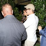 Angelina Jolie y Brad Pitt comparten cena sin sus hijos