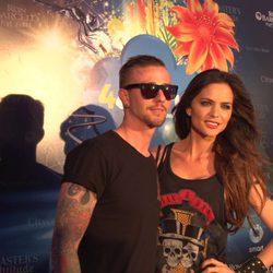 Guti y Romina Belluscio en el Festival 4every1