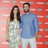 Clara Lago y Dani Rovira en la presentación de las rebajas de verano 2014 de El Corte Inglés