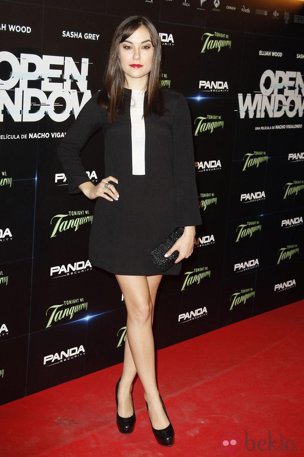 Sasha Grey en el estreno de 'Open Windows' en Madrid